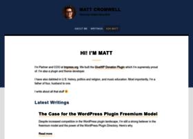 mattcromwell.com