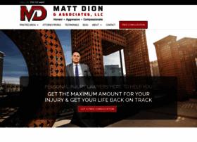 mattdionlaw.com
