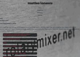 matteoionescu.com