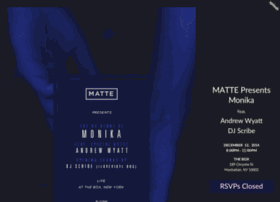 mattepresentsmonika.splashthat.com