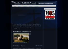 matthew5project.org