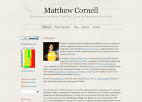 matthewcornell.org