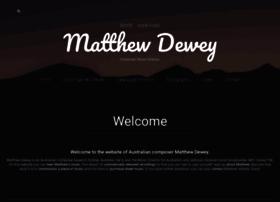 matthewdewey.com