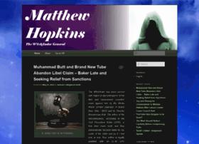 matthewhopkinsnews.com