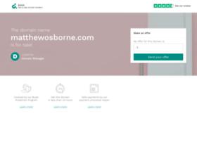 matthewosborne.com