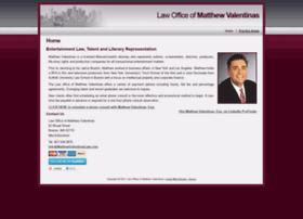 Matthewvalentinaslaw.com