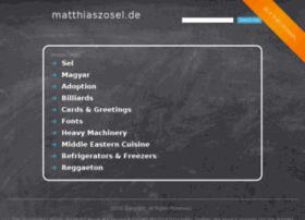 matthiaszosel.de