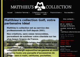 matthieuscollection.fr