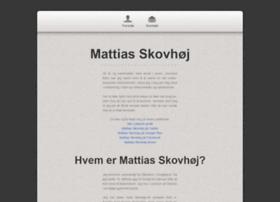 mattiasskovhoej.dk