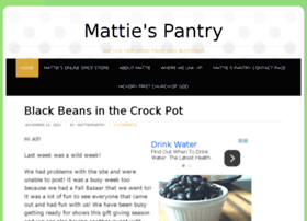 mattiespantry.com