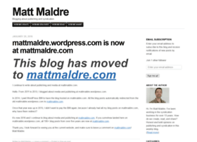 mattmaldre.wordpress.com