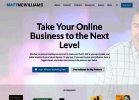 mattmcwilliams.com