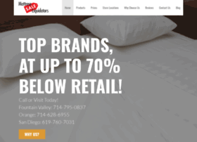 mattresssaleliquidators.com