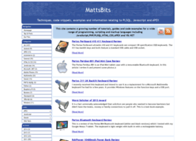 mattsbits.co.uk