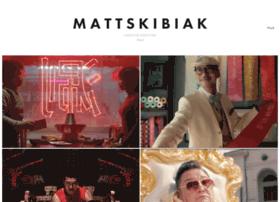 mattskibiak.com