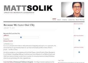 mattsolik.wordpress.com