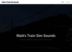 mattstrainsimsounds.weebly.com