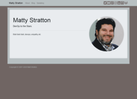 mattstratton.com