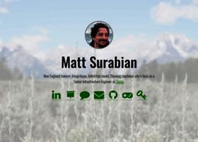 mattsurabian.com