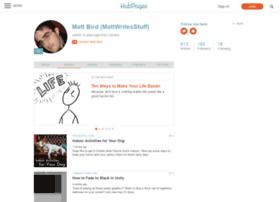 mattwritesstuff.hubpages.com