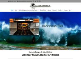 mauiceramics.com