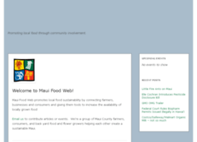mauifoodweb.com