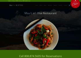 mauithaibistro.com