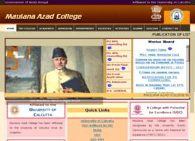 maulanaazadcollege.in