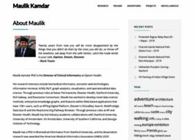 maulik-kamdar.com
