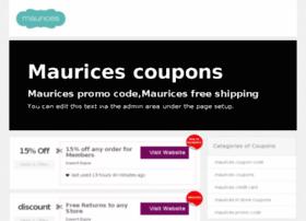 mauricescoupon.com