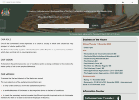 mauritiusassembly.govmu.org
