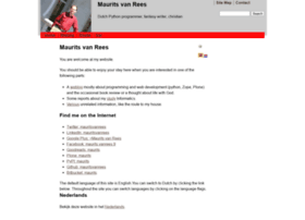 maurits.vanrees.org