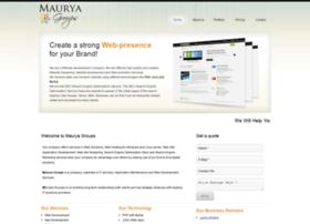mauryagroups.in