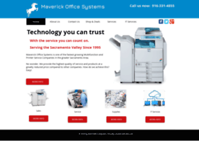 maverickofficesystems.net