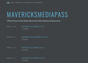 mavericksmediapass.com