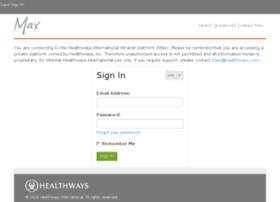 max.healthways.com