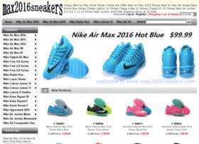 max2016sneakers.com