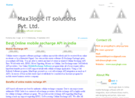 max3logic-it-solutions.blogspot.in