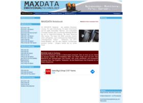 maxdata-notebook.de