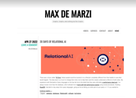 maxdemarzi.com