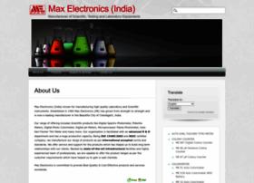 maxelectronicsindia.com