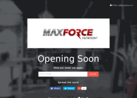 maxforcenutrition.com