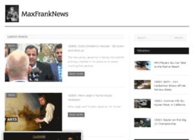 maxfranknews.com