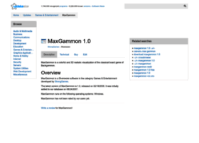 maxgammon.updatestar.com