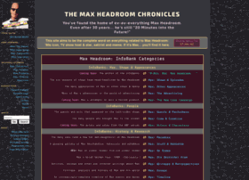 maxheadroom.com