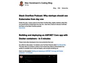 maxhorstmann.net