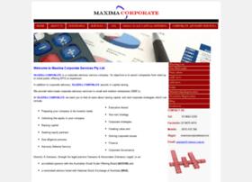 maximacorp.com.au