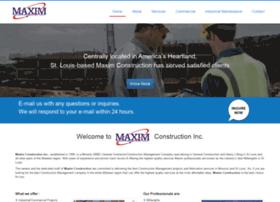 maximconstruction.net