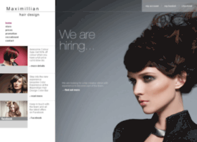 maximillianhairdesign.co.uk