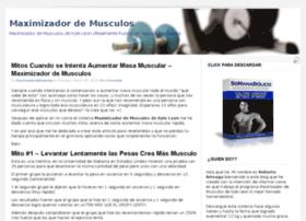maximizadordemusculos101.com